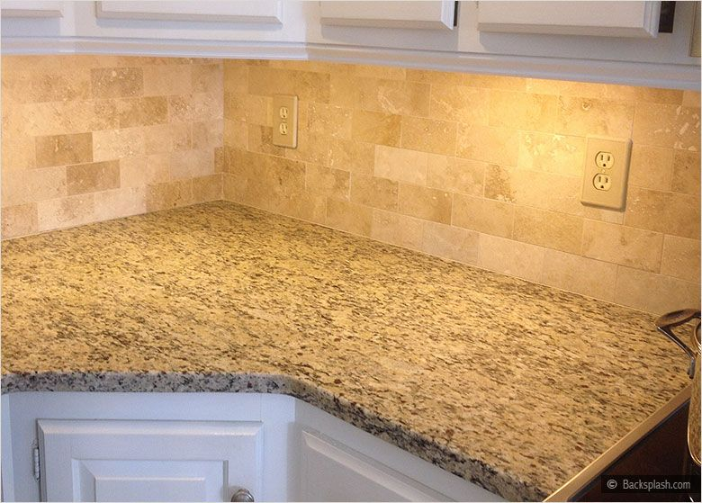Travertine Tile Backsplash Ideas Part - 28: Tumbled Travertine Backsplash | ... Backsplash Com Llc All Rights Reserved  Backsplash Com Llc