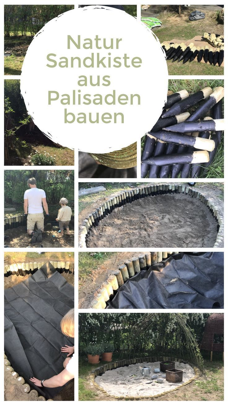 Photo of Natural ground box made of palisades with a wicker roof