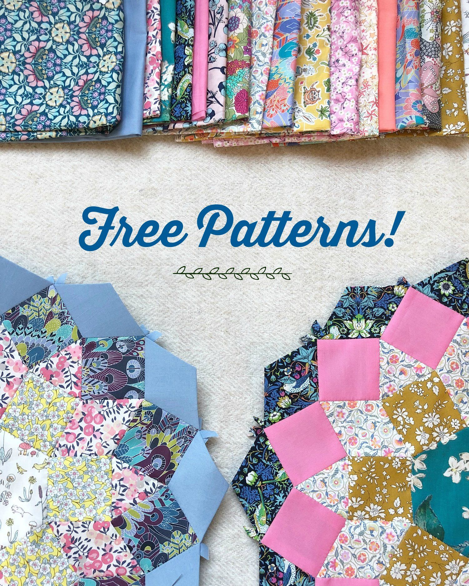 Free Epp Patterns Free Paper Piecing Patterns Paper Pieced