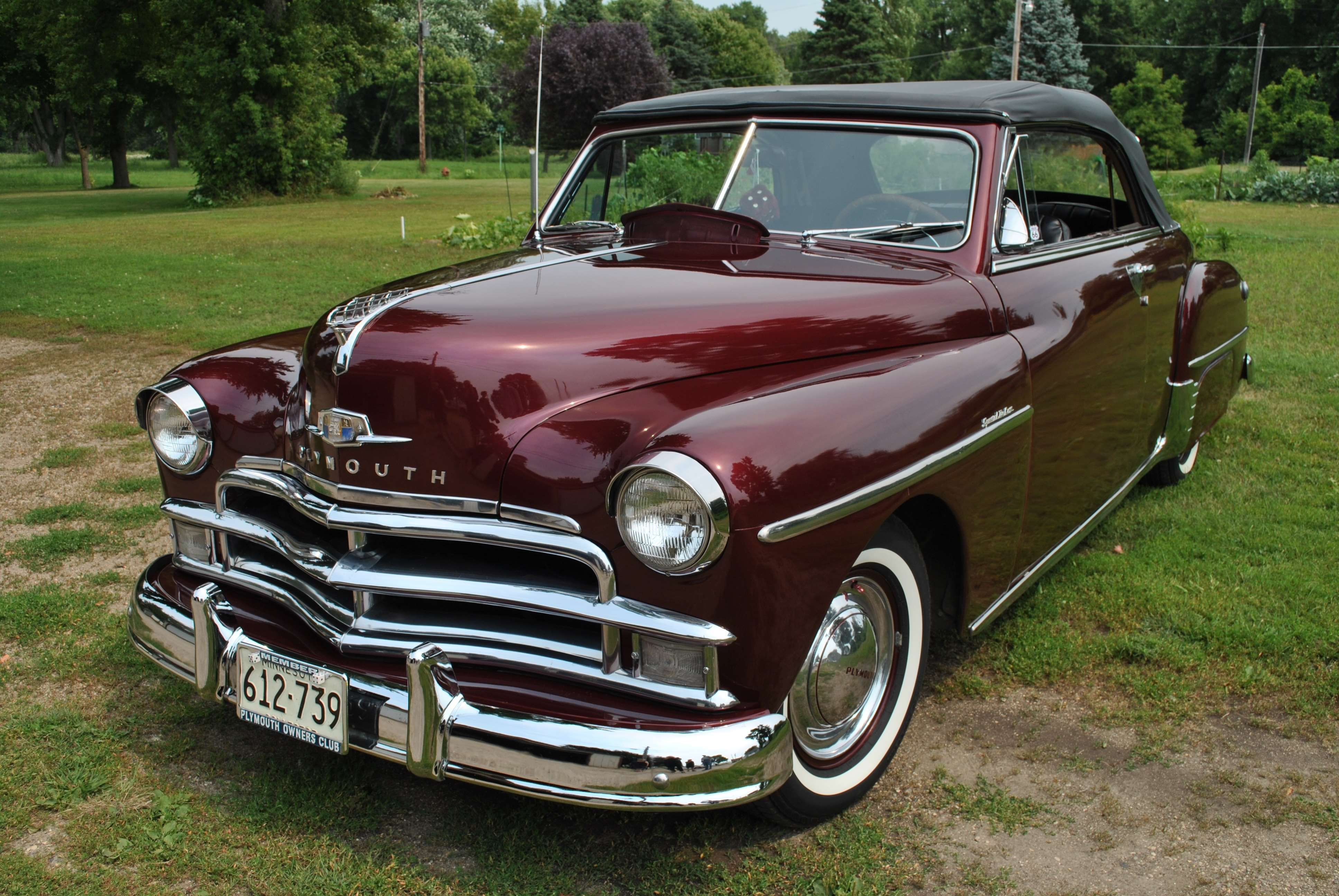 Make Plymouth Model Other Year 1950 Body Style