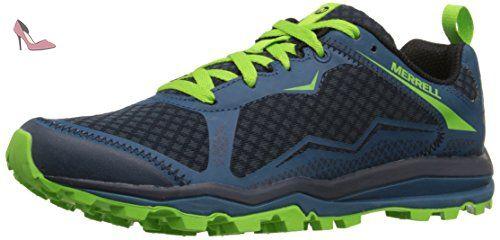 Merrell All Out Crush Light, Shoes Homme - Vert (Bright vert), 43 EU