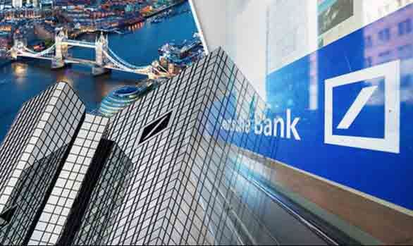 Deutsche Bank va muta 300 de miliarde de euro din Londra