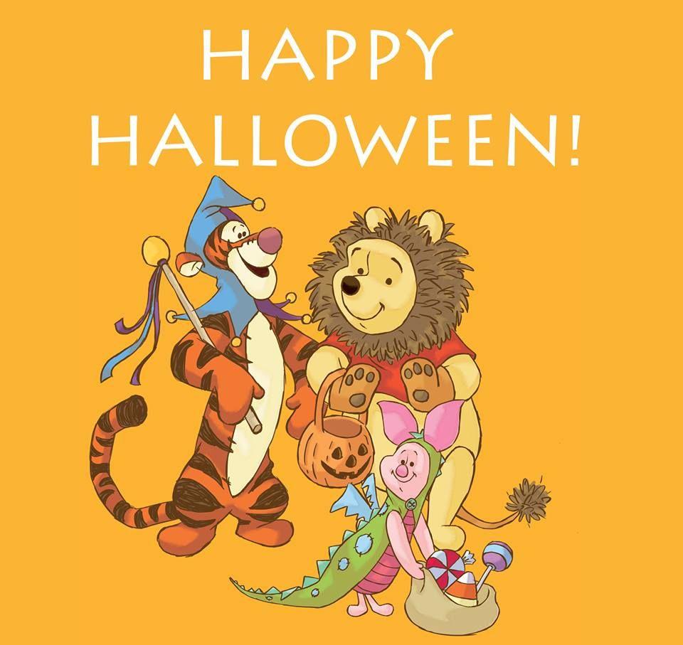 Happy halloween winnie the pooh quotes u stuff pinterest