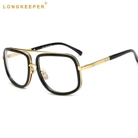 8113f4000579a 2018 Optical Eyewear Frames Men Clear Lens Eyeglasses Women High Quality  Blackmodlilj