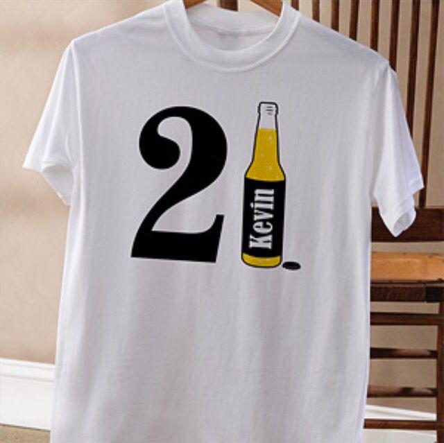 Custom 21st Birthday Shirt Idea