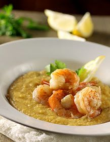 There's a Newf in My Soup!: Sunsets, Shrimp, and Slow-Cooker Grits