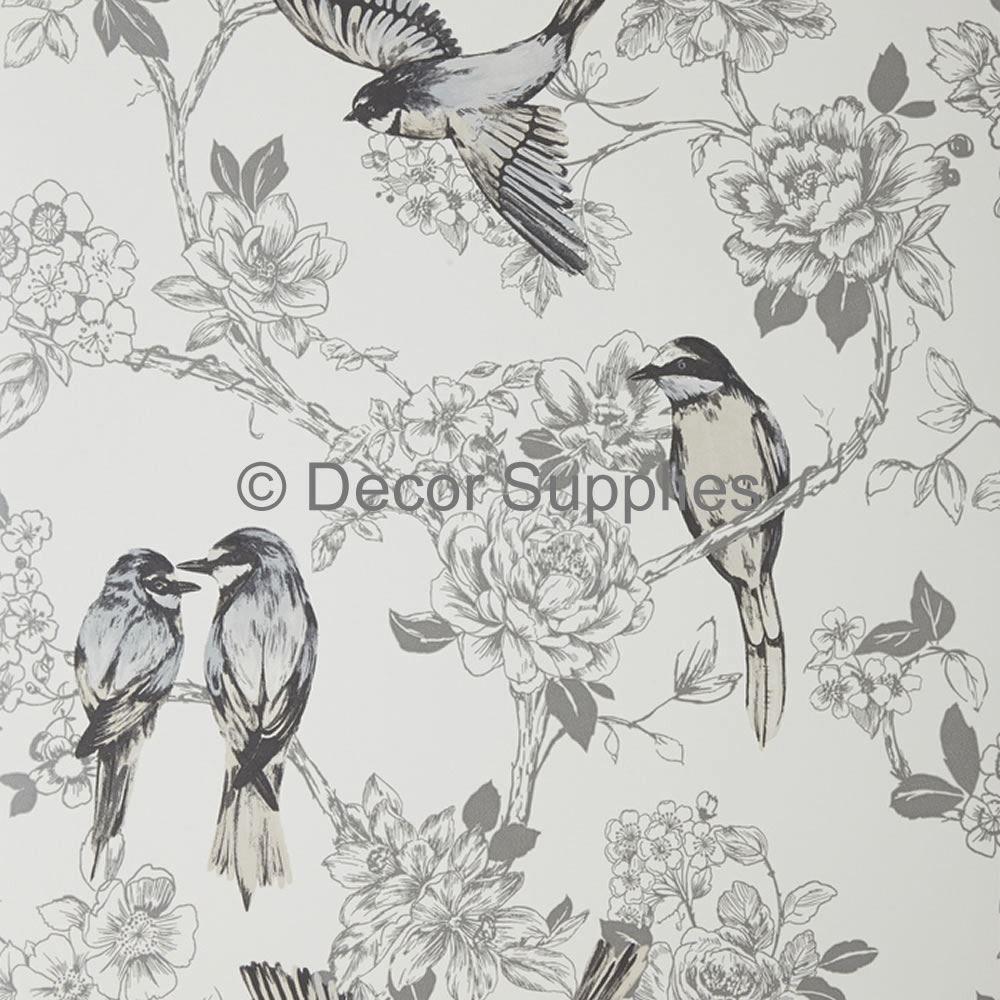 Dove 1616/903 Songbird Floral Birds Maison
