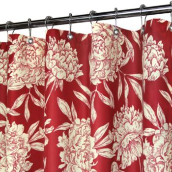 Watershed Peony Floral Shower Curtains With Images Funky
