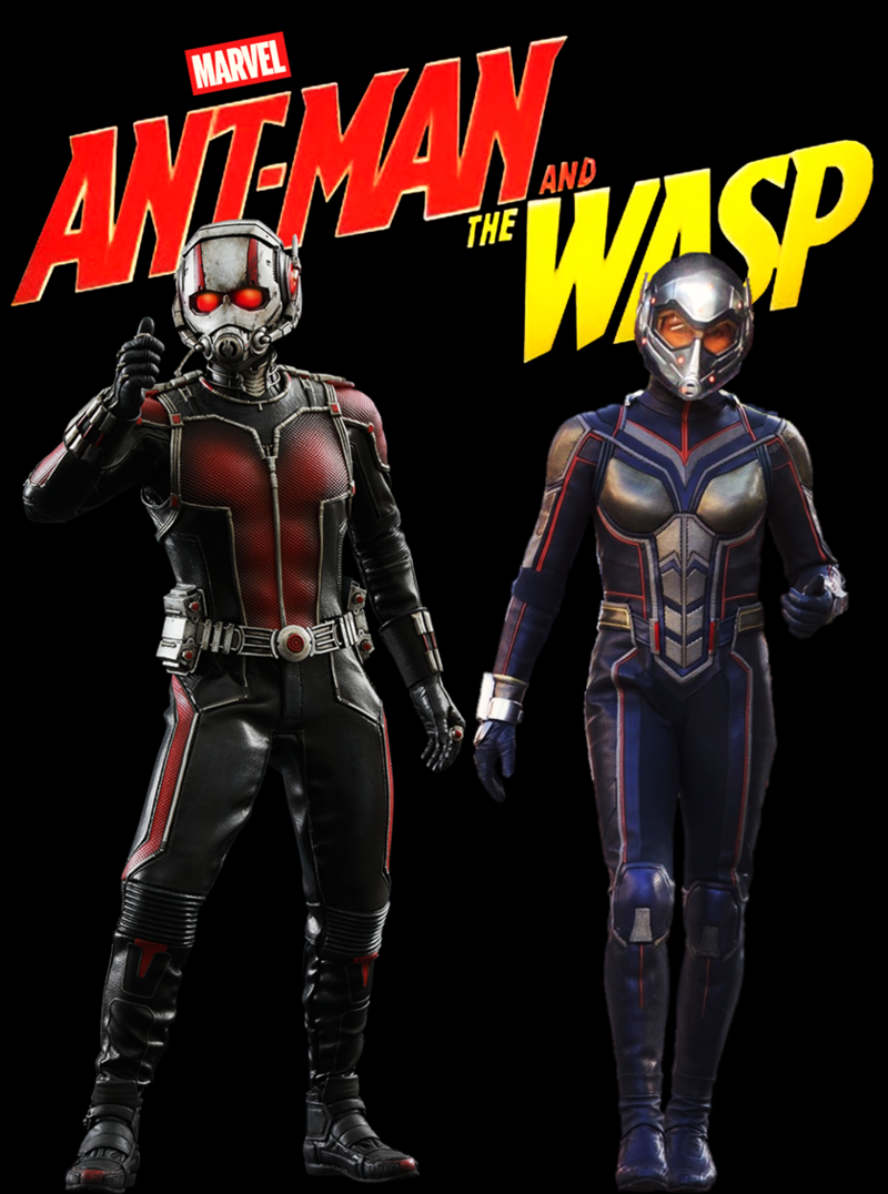 Ant-Man and The Wasp Movie Poster | ANTMAN & WASP | Ant ...