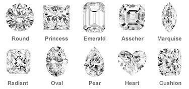 shapes diamond   Coup de foudre   Pinterest   Bijoux et Coup de foudre d3d154035074