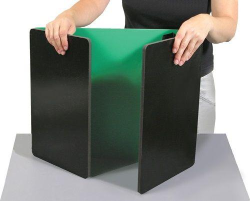 Desktop Study Carrel   Portable Tri Fold Board Privacy Shields Wall Desk,  Privacy Walls