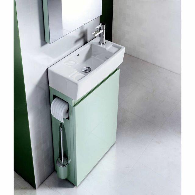 die all in one gste wc einheit mit waschbecken und unterschrank - Gaste Wc Mobel
