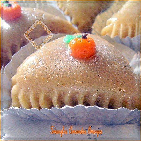 La Cuisine De Djouza: Triangles Amandes Oranges Photo 2