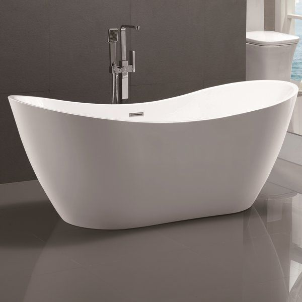 Image Result For Free Standing Tub 60 Inch Bathtubs Modern