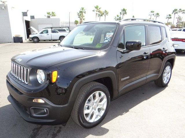 2015 Jeep Renegade In Black At Chapman Dodge Las Vegas.