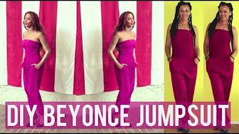 Como Hacer un DIY Mono inspirada por Beyonce | Costura Facil - YouTube