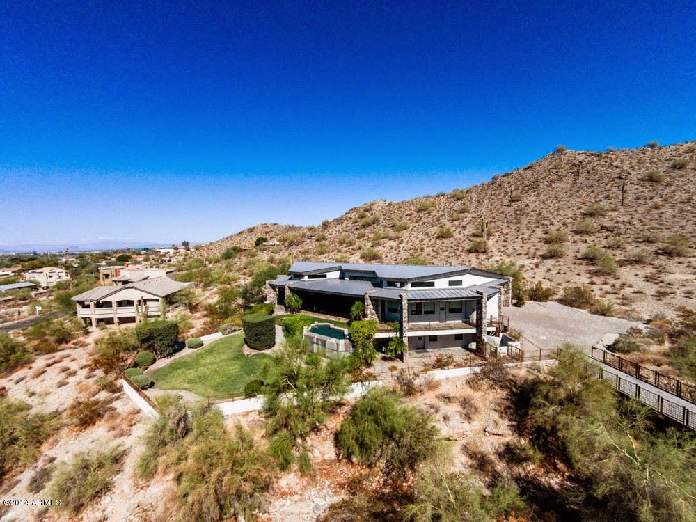 Arizona homes by angela hillside custom home with mother