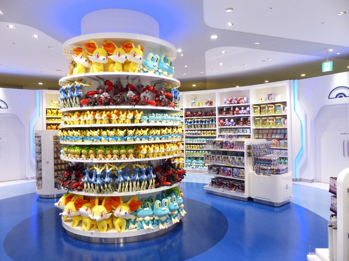 Pokemon Center Tokyo Bay Opens In Funabashi Japan Second Largest The World