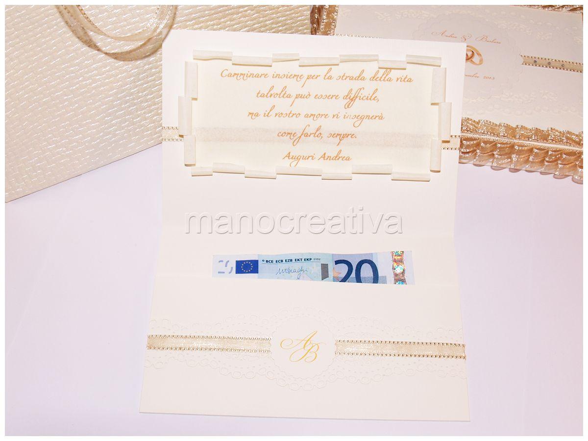 Busta Matrimonio Toscana : Biglietto portasoldi coordinato con scatola e busta per il