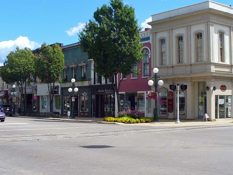 Downtown Tecumseh Mi Pure Michigan Michigan Places