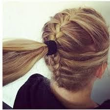 Image Result For Dance Hairstyles For Competition Cool Braid Hairstyles Long Hair Styles Braided Ponytail