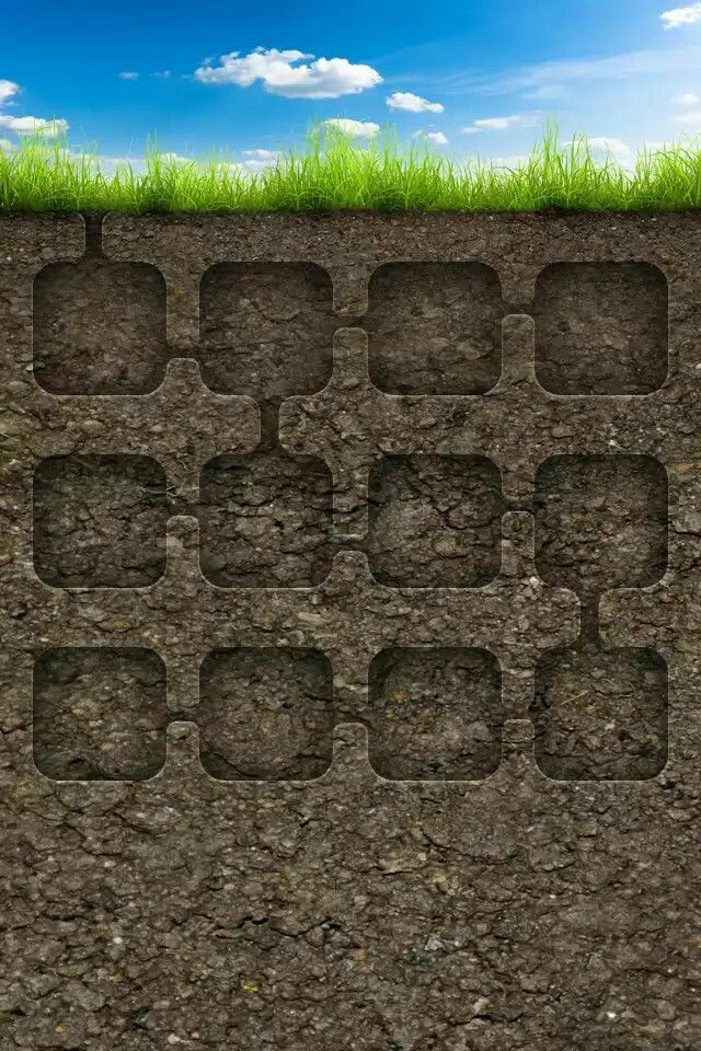 Underground Icon Wallpaper Minecraft wallpaper, Picsart