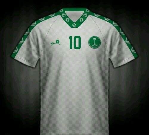 outlet store 172d3 3e482 Saudi Arabia home shirt for the 1994 World Cup Finals ...