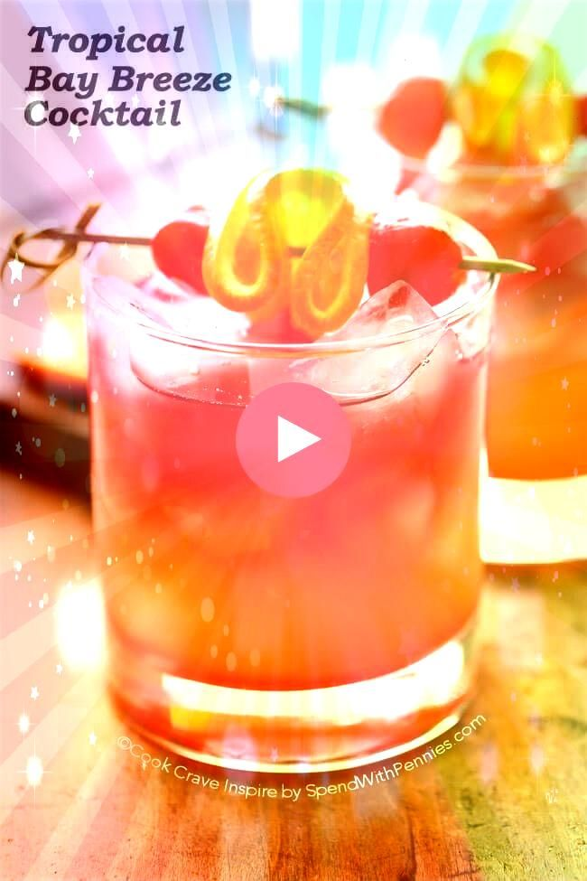 easy to make Tropical Bay Breeze Cocktail is a taste of the tropics with fl This easy to make Tropical Bay Breeze Cocktail is a taste of the tropics with fl  How To Make...