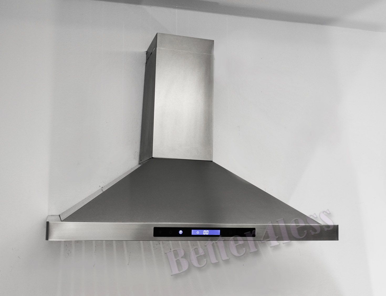kitchen fan cover mobile home 36 wall mount stainless steel range hood vent touch designs shop by