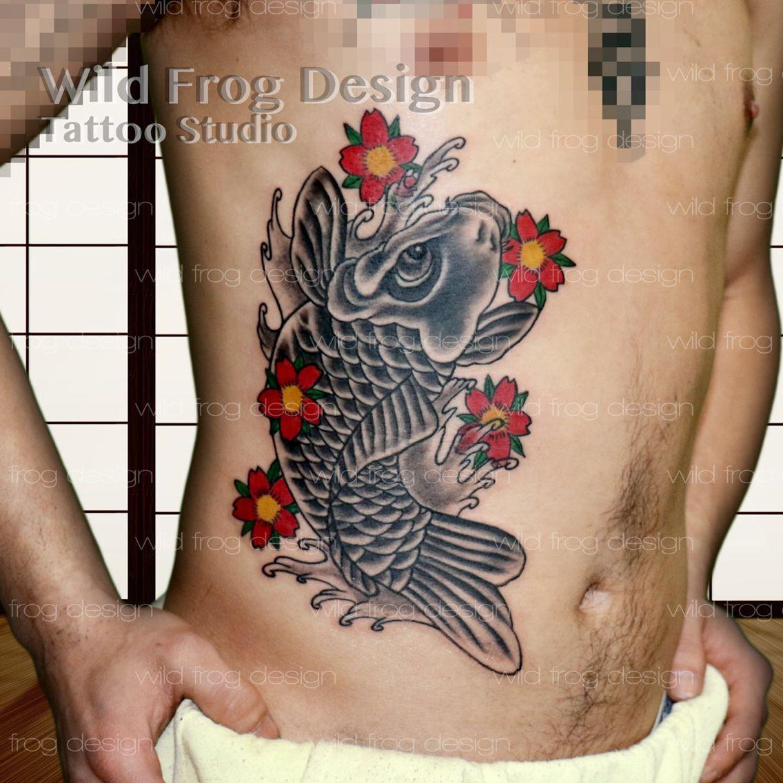 Japanese koi tattoo japanese tattoo irezumi pinterest japanese