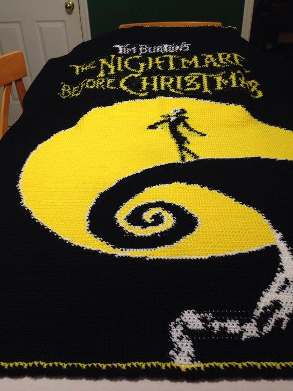 1fc6dae081c8c Nightmare Before Christmas Inspired Crochet by RepurposedJoy | A ...