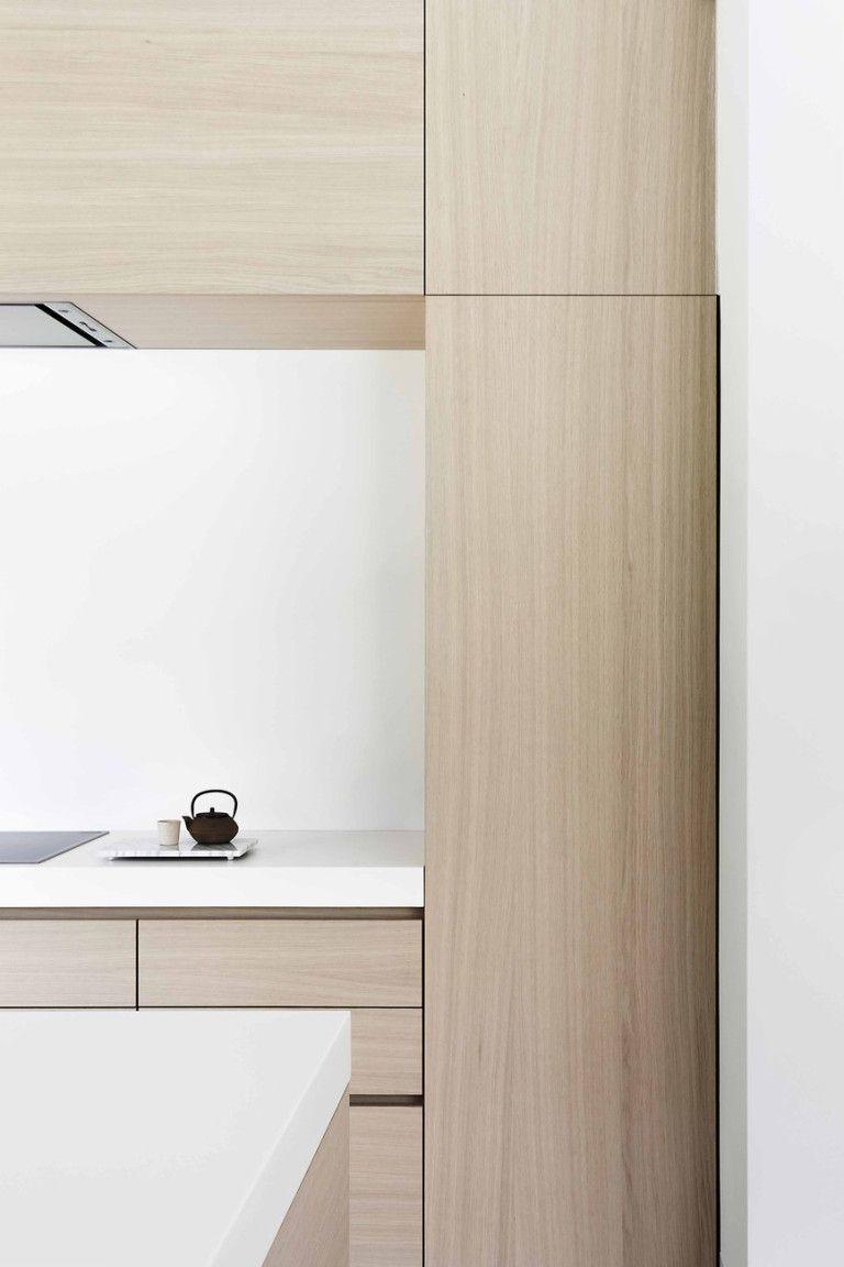 Juma Architects Project K Light Wood Kitchens White Countertops Modern Wood Kitchen