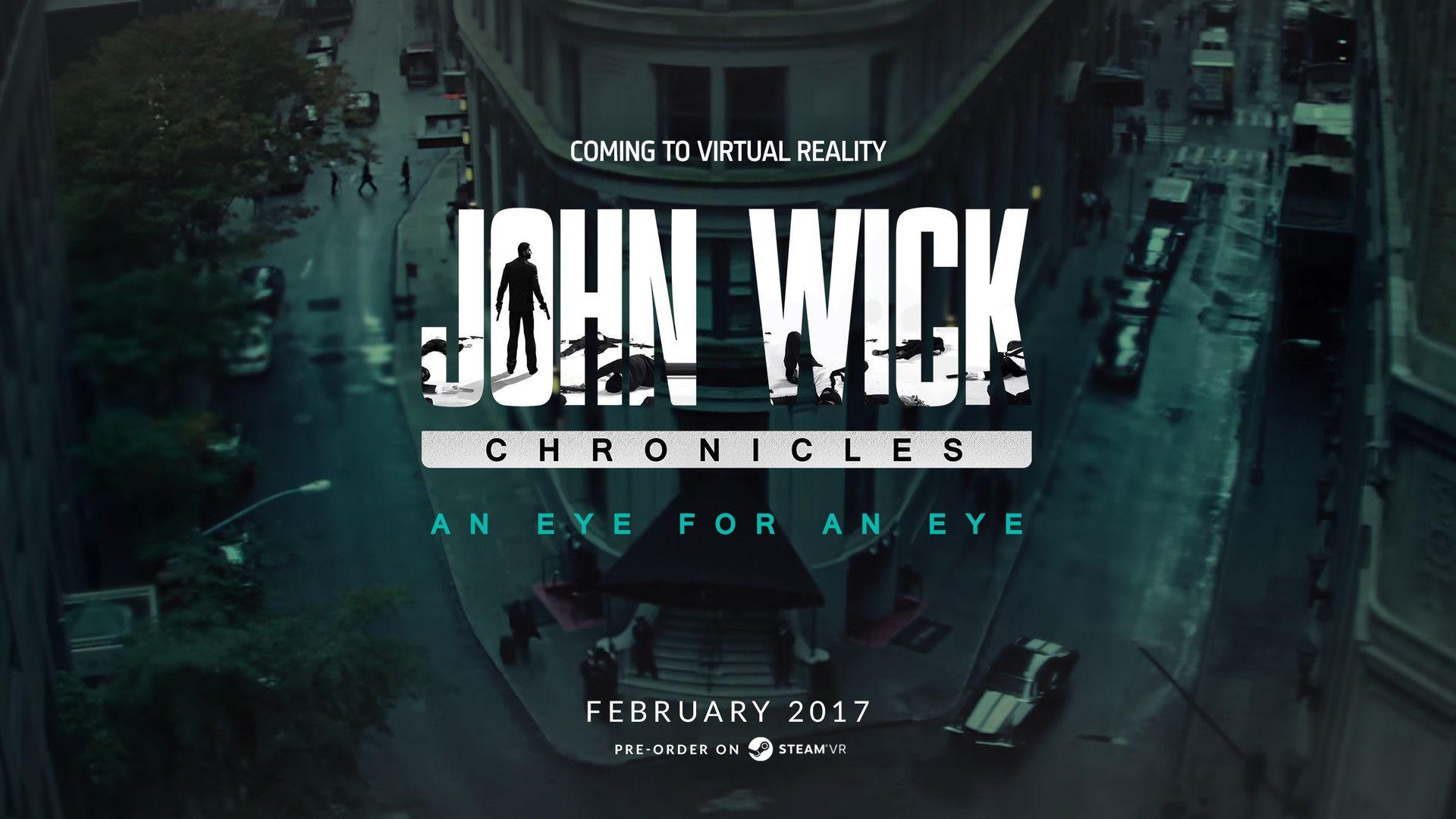 John Wick Chronicles Shooter game, Virtual reality, John