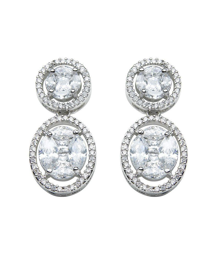 David Tutera Embellish Elizabeth Earrings All Dressed Up