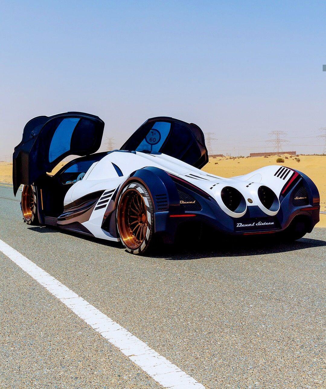 Devel Sixteen Ii 12 3ltr V16 Quad Turbo 5 000hp Super Cars