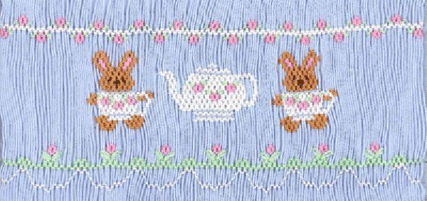 Tea For Two | Smocking | Smocking, Smocking tutorial