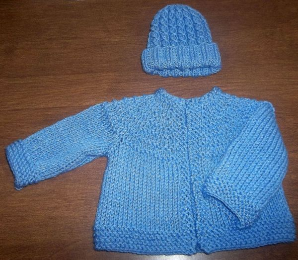 knitted baby sweaters free patterns | the Dreambaby booties found ...