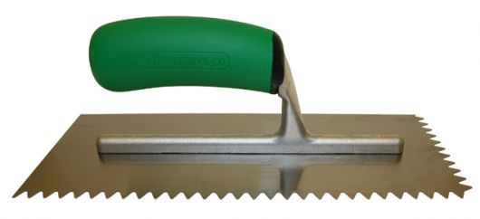 Barwalt 1 16 Square Notch Trowel For Vinyl Floor Source And Supply Trowel Trowels High Carbon Steel