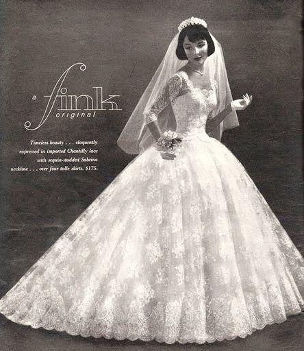 Pin By Athena Vintageprecious On Vintage Fashion 1950s Wedding Dresses Vintage Wedding Gowns Vintage Wedding Dresses