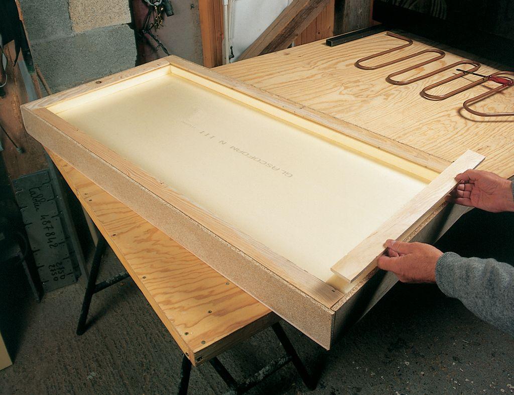 Fabriquer Un Caisson De Panneau Solaire Diy Family Panneau Solaire Caisson Installation Panneau Solaire