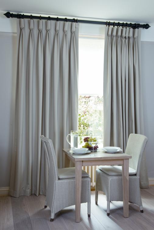 Goblet headed curtains | Window Treatments | Pinterest ...