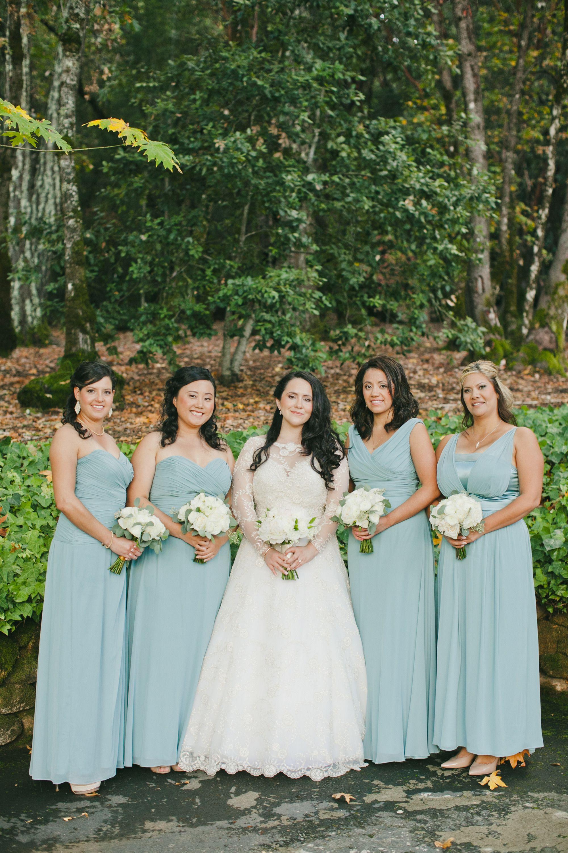 Dessy Icelandic Blue Bridesmaid Dresses Bridal Dress Francesca Miranda Rubie With Matching Bolero