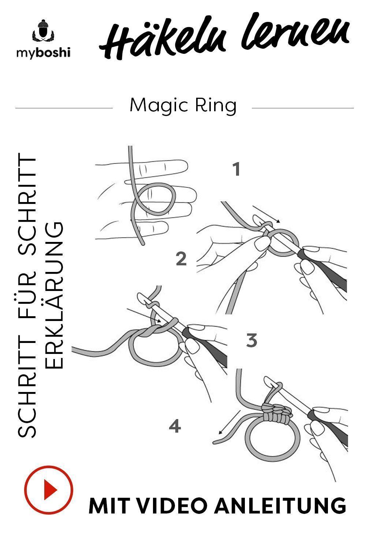 Photo of Lerne, welchen magischen Ring zu häkeln Der Beitrag Lerne, wie du den magischen Ring häkelst …