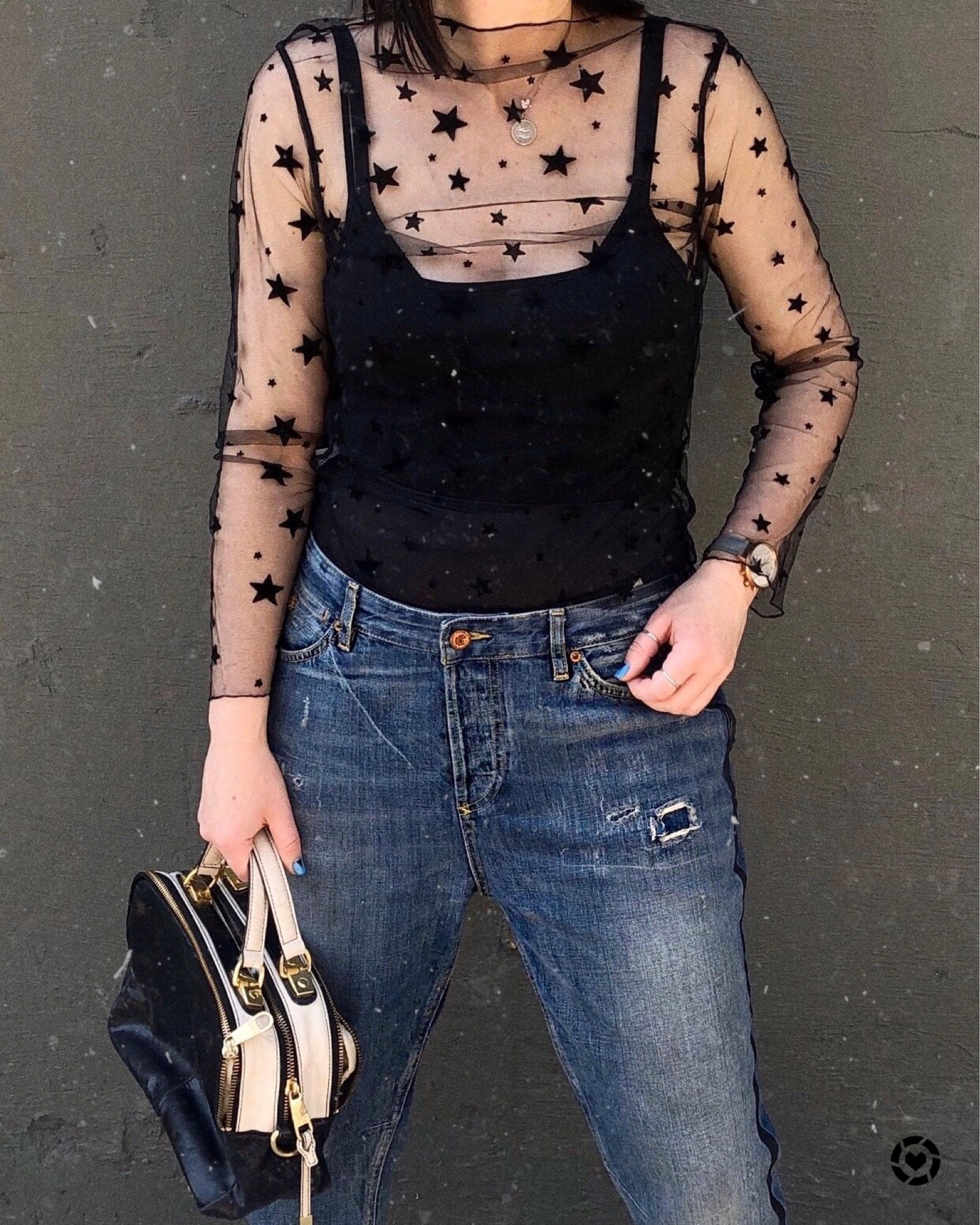 , A sheer top with star pattern for Valentine's Day,#pattern #sheer #valentine, My Pop Star Kda Blog, My Pop Star Kda Blog