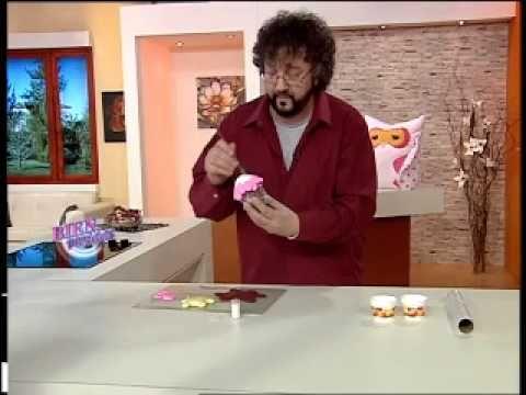 116 - Bienvenidas TV - Programa del 03 de Septiembre de 2012- Jorge rubicce, cupcake en porcelana (en 2da parte del video)