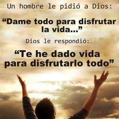 Palabras De Vida Mensajes Cristianos Fe Dios Le Pedi A