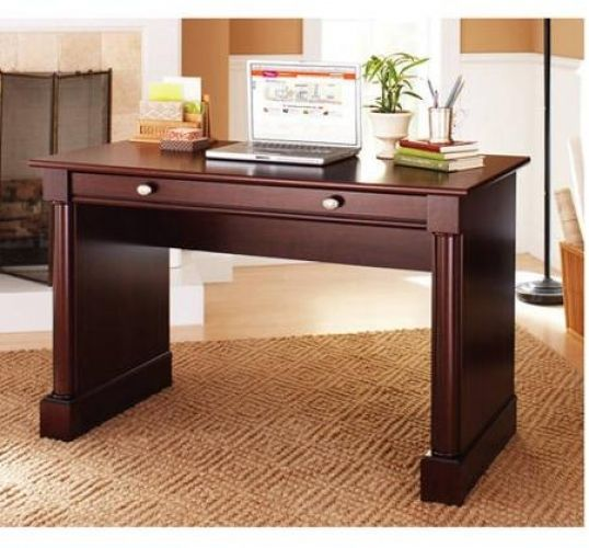 Cherry Writing Desks Home Office Modern Laptop Wood Furniture Table Study  OLD #Sauder