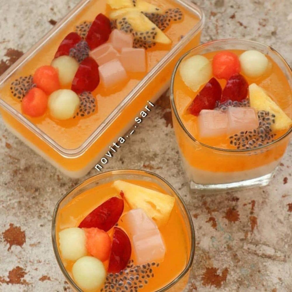 Resep Puding Cup Untuk Dijual Istimewa Resep Puding Resep Makanan Penutup