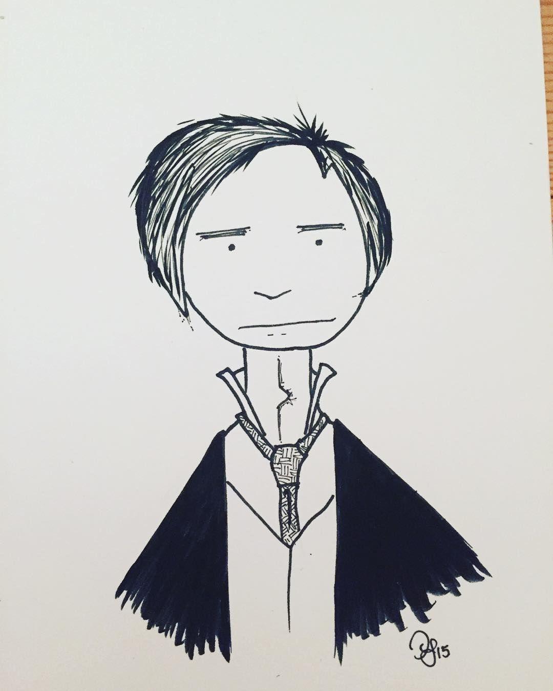 #inktober Day 29: Ichabod Crane #kuretake #usa #dearjetpens #manuscriptinktober @manuscriptpenco #inktober2015