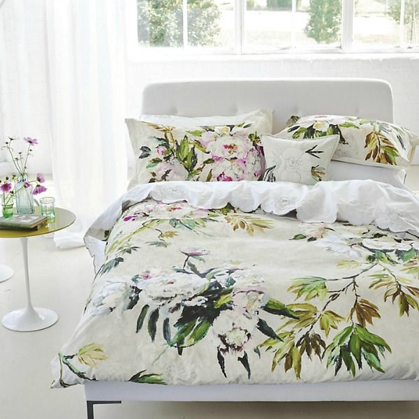 Spring summer duvet bedding - arrow & wild